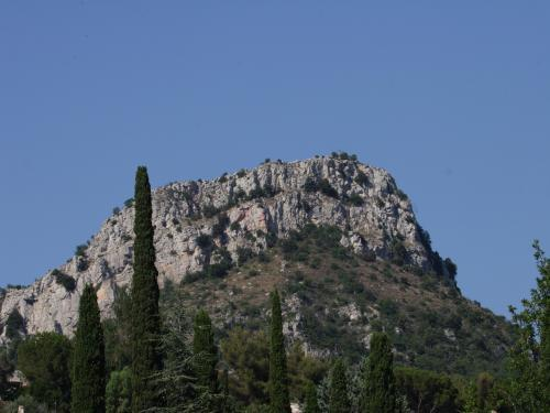 The Baou des Blancs rock - Hikes & walks in Vence