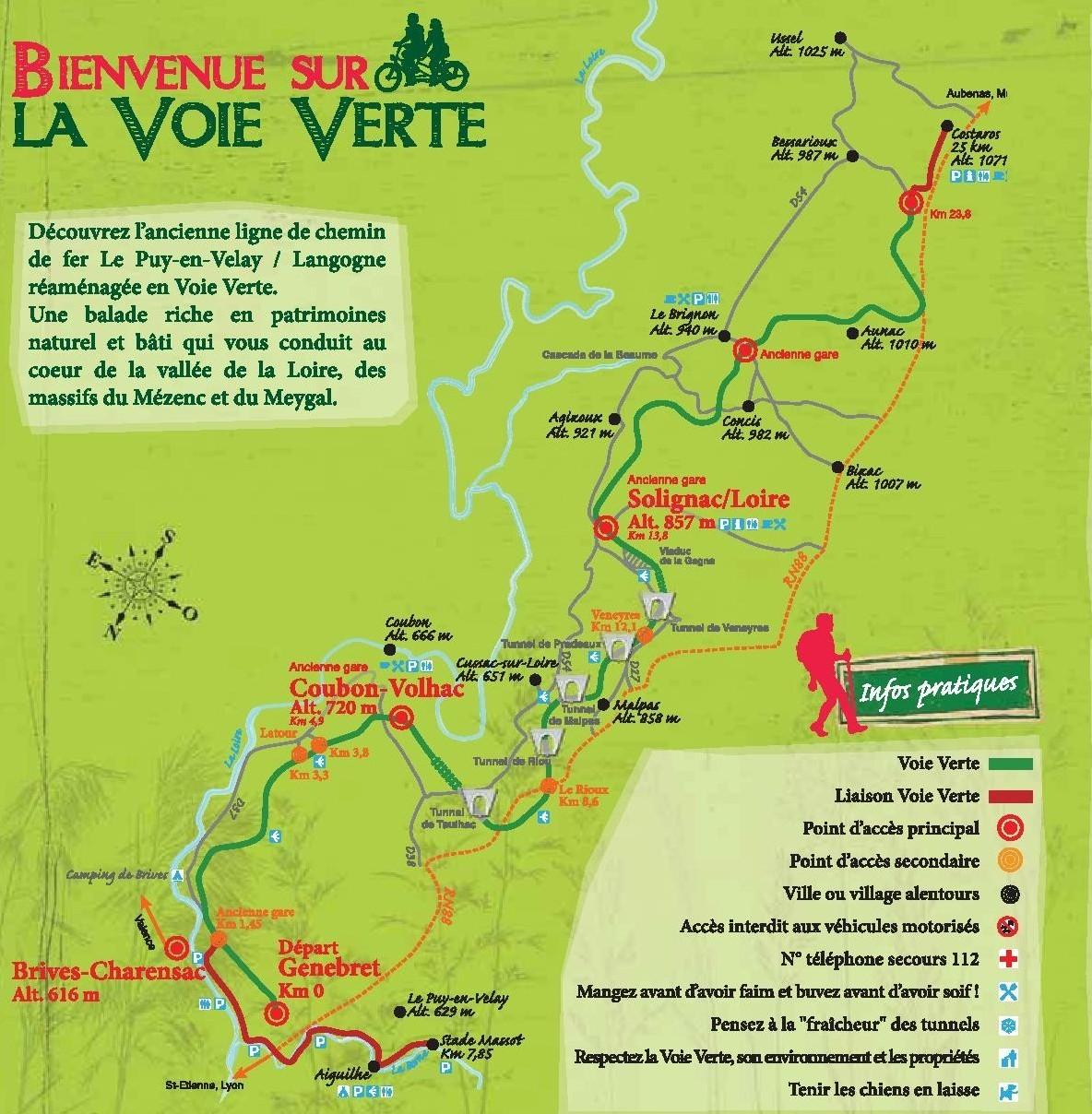Voie Verte - Balade à Brives-Charensac