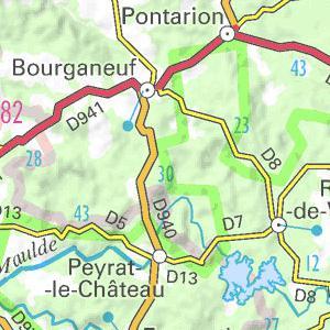 Carte Touristique Haute Vienne.Locations De Vacances En Haute Vienne Vacances Week End