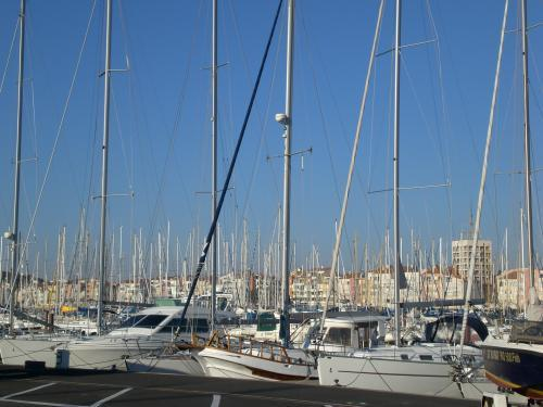 Agde - Sailboats in the harbor of Cape d'Agde