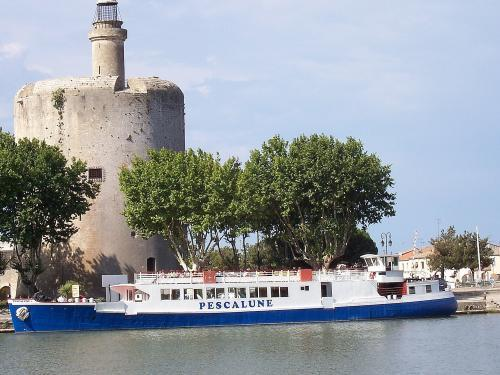 Aigues-Mortes the tower of Constance