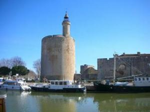 Aigues-Mortes, the tower of Constance