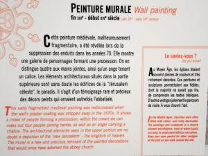 Information about the mural (© J.E)