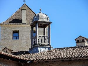 Lantern on the roof of Monteverdi Hall (© J.E)