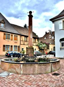 Fountain Stockbrunnen (© J. E)
