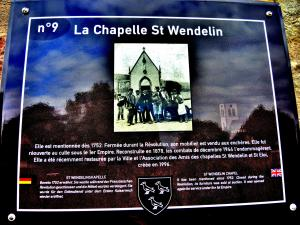 Informatie over St. Wendelin kapel (© J. E)