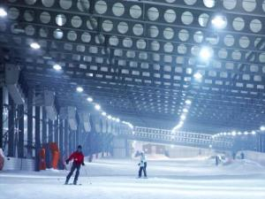 Indoor ski slope