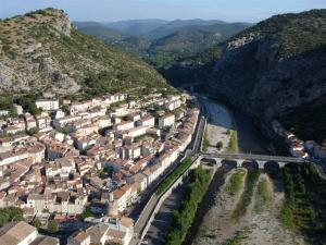 Anduze from the sky