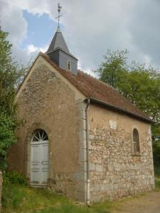 Chapelle de Montcimet, commune d'Anost