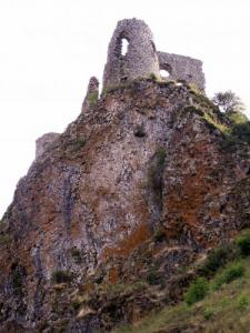 The ruins of the castle of Apchon