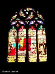 Stained glass windows of St. Martin's Church