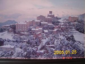 The Village in the snow north side