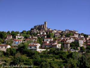 Ens, neighboring municipality (village the sunniest region in France)