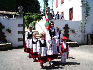 Basque Dancers in Arcangues