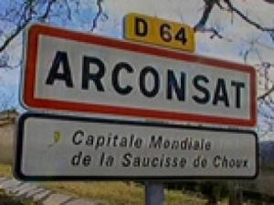 Arconsat, world capital of sausage cabbage