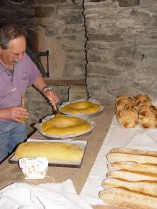 First breads and focaccia Aveyron