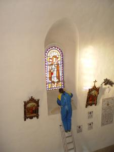 Renovation of all the windows of the church Arnac-sur-Dourdou