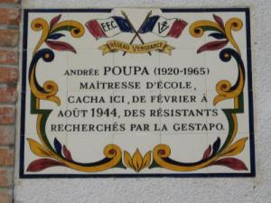 Plaque on the façade of the City