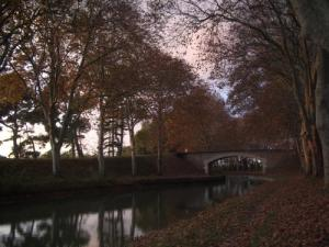 The Canal du Midi at 4.5 km from Arzens