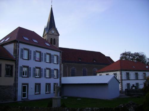 Arzviller - Place of the Church