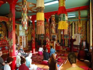 Tibetan Centre in the land of Camembert