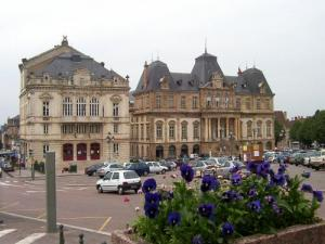 Town Hall and Main Square of Autun