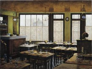 Auberge Ravoux called Van Gogh's house - Dining room