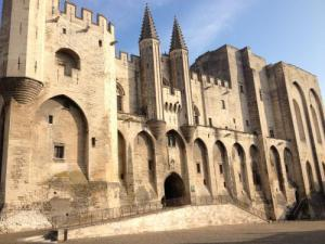 Palace of the Popes (© F. Olliver - Avignon Tourism)