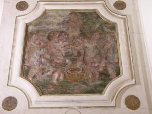 Fresco at the castle, restored in 2008