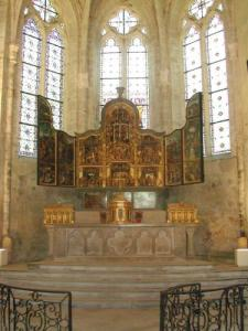 Flemish Altarpiece of the Imperial Abbey of Baume-les-Messieurs