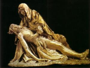 The Pieta (sculpture master Chaource)