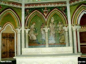Cathedral altar dedicated to St Eloi, painting of the fifteenth century