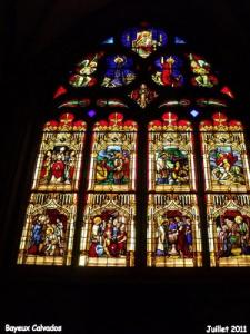 Cathedral, stained glass Thevenot (1847)