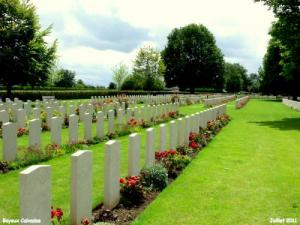 English Cemetery Bayeux - 13000 graves