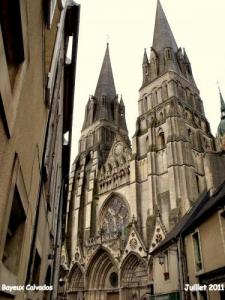 Gothic Cathedral of Bayeux (1077)