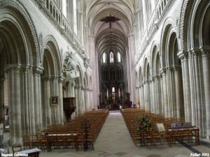 cathedral, the nave, the choir and its collateral