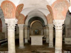 Crypt of the eleventh century cathedral