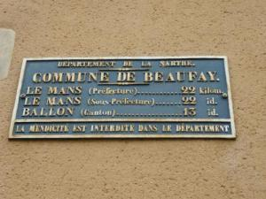 Plaque indicative