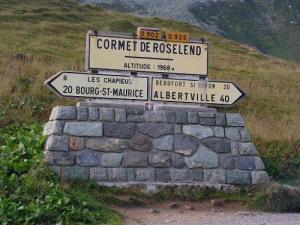 The Cormet Roselend