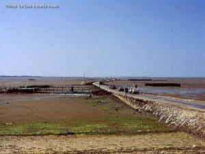 Passage du Gois at low tide (© JE)