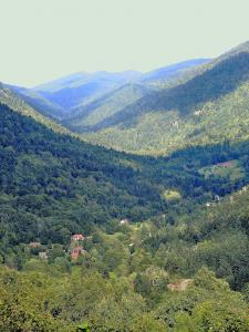 Panorama on Plancher-les-Mines valley (© Jean Espirat)