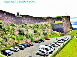 South facade of the citadel of Belfort (© JE)