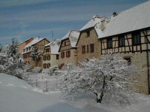 The walls in winter
