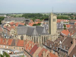 Church belfry view