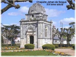 The chapel of Jehan Seigne