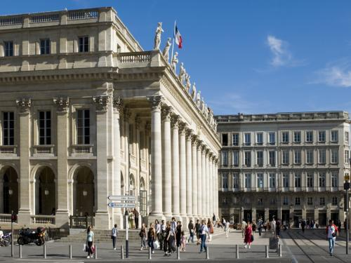 The Grand Theater of Bordeaux (© F. Poincet)