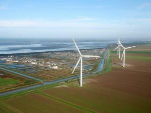 The wind farm can power 20,000 homes