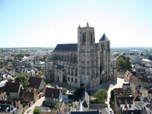St. Stephen's Cathedral of Bourges (© N.Menanteau)