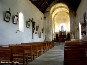 Saint-Nicolas is one of the oldest churches in Vendée (eleventh century)