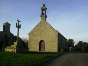 The Pol chapel and gatehouse granite